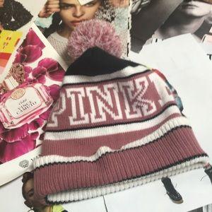 Pink Nation Stocking Hat.